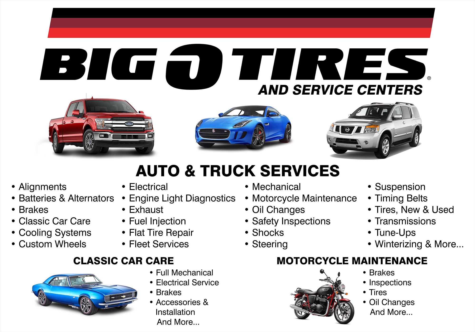 Big O Tires Services Sign Proof R2